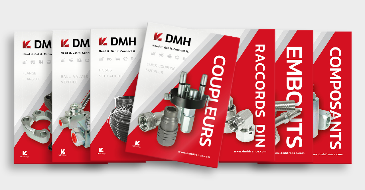 DMH new product range catalogs