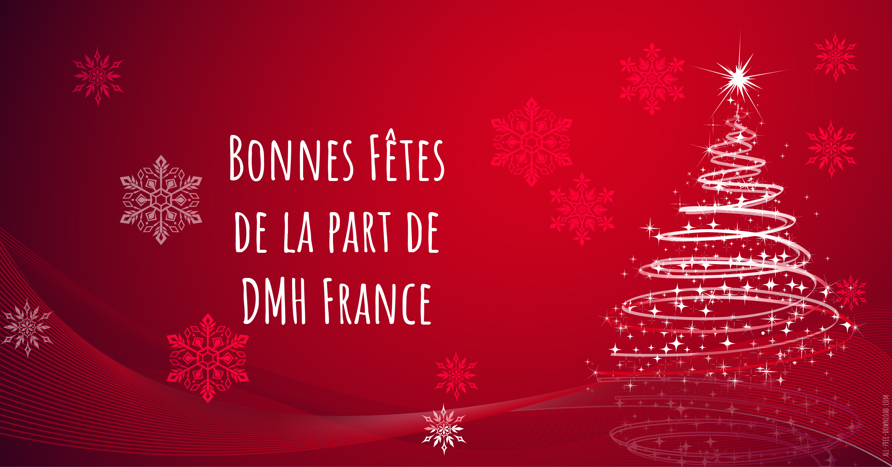 Season's Greetings from DMH France