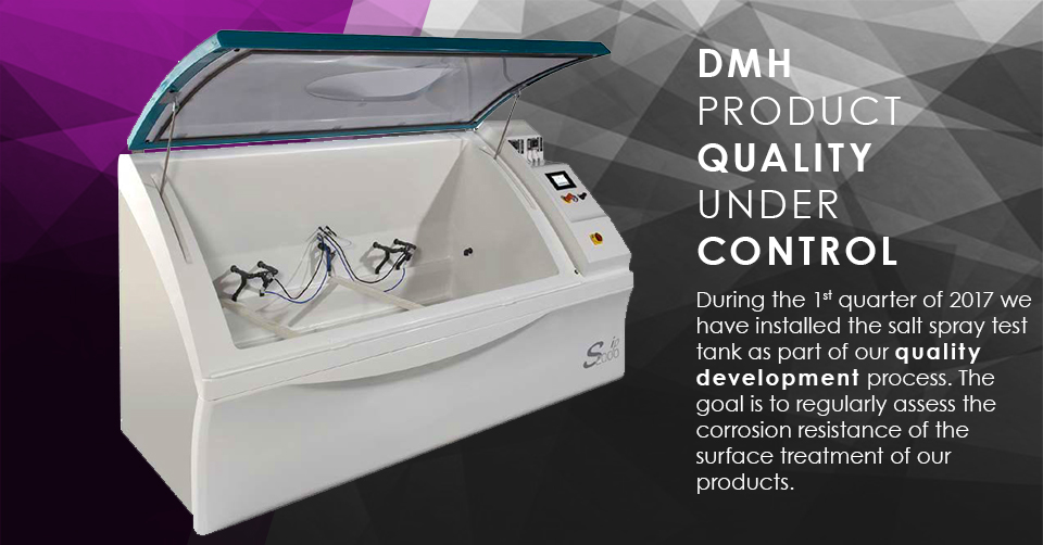 DMH PRODUCT QUALITY IS UNDER CONTROL
